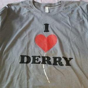 I ❤ Derry It 2 Promo Graphic Tee NWOT XL